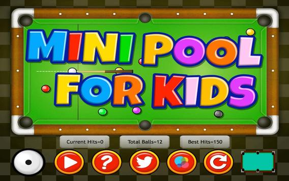 Mini Pool for Kids poster
