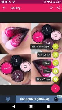 Lipstick Makeup Ideas apk screenshot