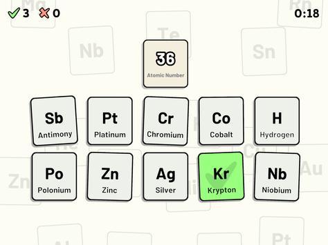 Periodic table quiz for android apk download periodic table quiz screenshot 11 urtaz Gallery