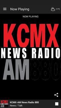 News Radio 880 KCMX-AM poster