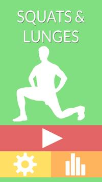 Squats and Lunges poster