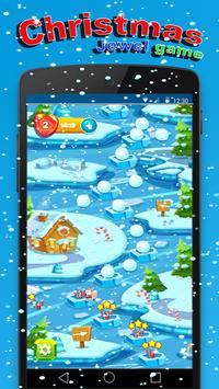 Santa Puzzle  match 3 game screenshot 1