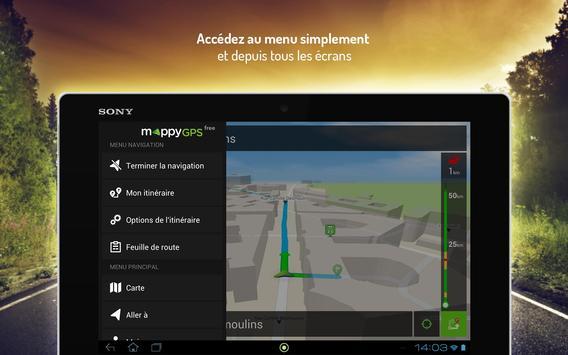 Mappy GPS Free screenshot 8