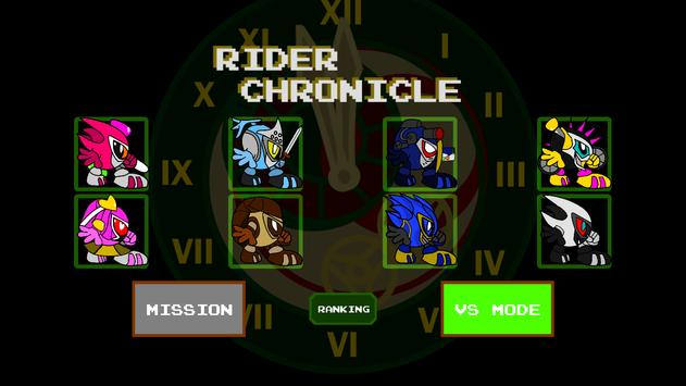 Poster Rider Chronicle