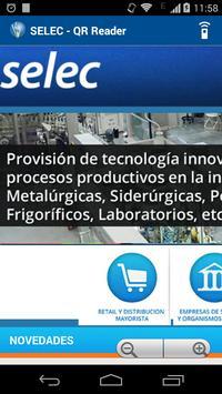 SELEC - QR Reader screenshot 3