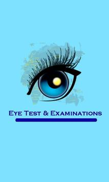 Eye Test & Examinations poster