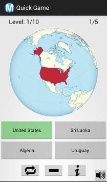 World map quiz apk download free casual game for android apkpure world map quiz poster world map quiz apk screenshot gumiabroncs Gallery