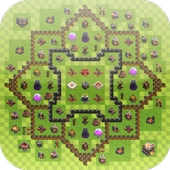 Maps for COC by Nimo Strategy icon