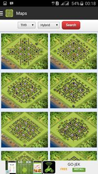 Maps for Clash of Clans - Free apk screenshot