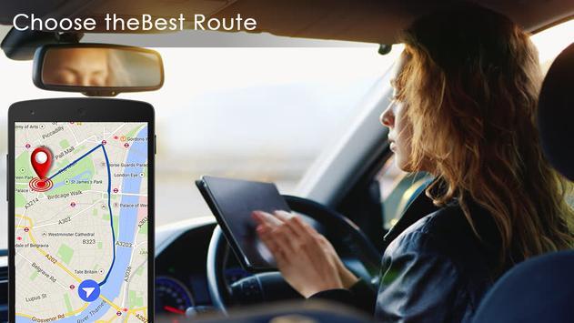 Free Maps Route & Navigation Voice GPS screenshot 9