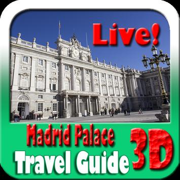 Madrid Palace Maps and Travel Guide poster