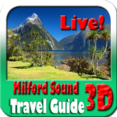 Milford Sound Maps and Travel Guide-icoon
