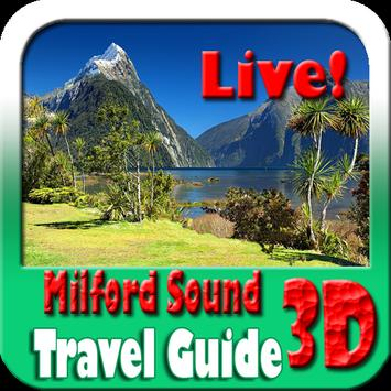 Milford Sound Maps and Travel Guide 포스터