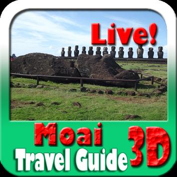 Moai Maps and Travel Guide poster