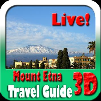 Mount Etna Maps and Travel Guide poster