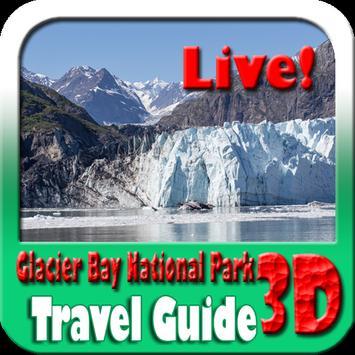 Glacier Bay National Park Travel Guide poster