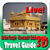 Golden Temple Maps and Travel Guide icon