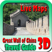 Great Wall of China Maps and Travel Guide icon