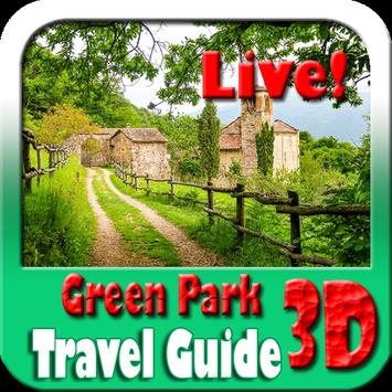 Green Park Maps and Travel Guide poster