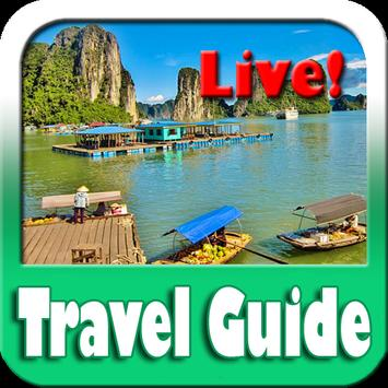 Halong Bay Maps and Travel Guide poster