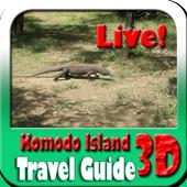 Komodo Island Indonesia Maps and Travel Guide icon