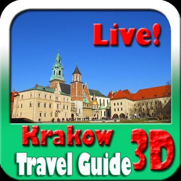 Krakow Wawel Cathedral Maps and Travel Guide poster