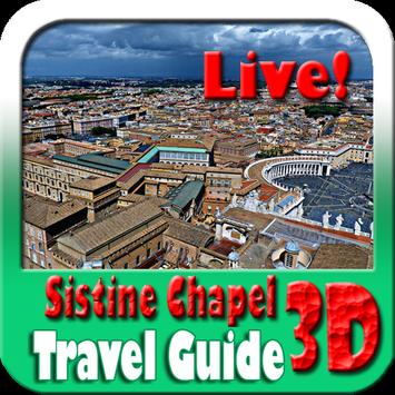 Sistine Chapel Maps and Travel Guide poster