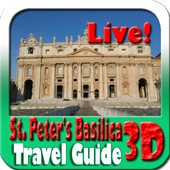 St Peter's Basilica Maps and Travel Guide icon