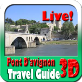 Pont D'avignon Maps and Travel Guide icon