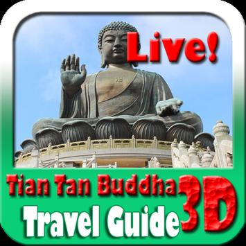 Tian Tan Buddha Maps and Travel Guide poster