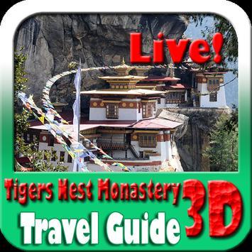 Tigers Nest Monastery Bhutan Travel Guide poster