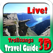 Trolltunga Norway Maps and Travel Guide icon