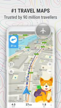MAPS.ME – Offline Map and Travel Navigation poster