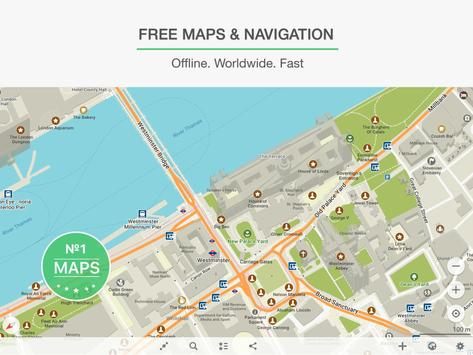 MAPS.ME – Offline Map and Travel Navigation apk screenshot