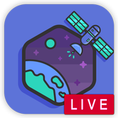 Live Satellite -Earth Map View icon