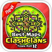 Maps Of Clash Of Clans 2017 icon