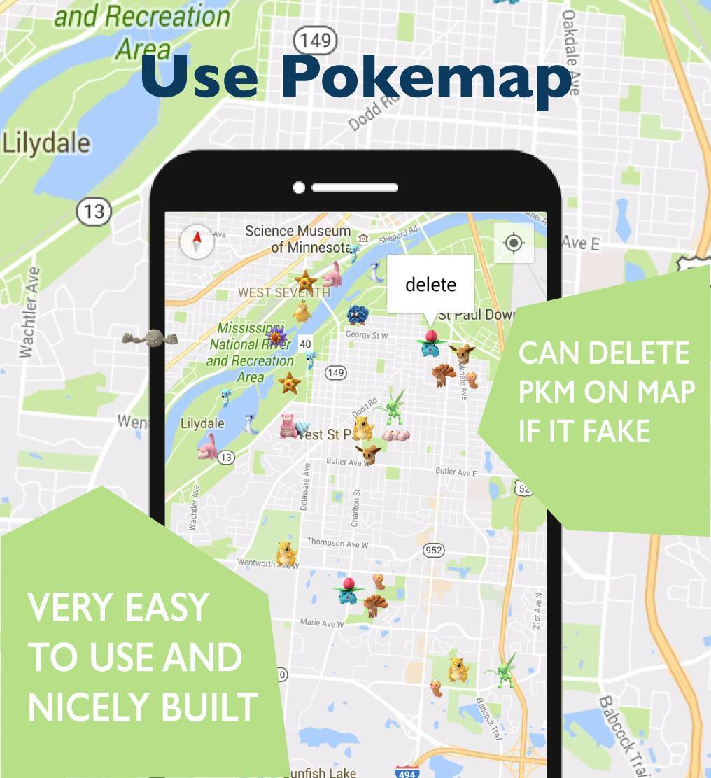 GO Map For Pokémon GO Location for Android - APK Download