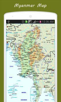 Myanmar Map screenshot 1