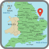 Map of England icon
