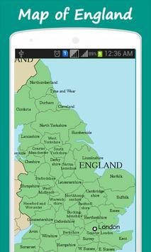 Map of England screenshot 1