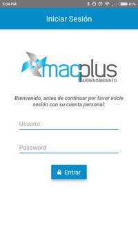 MaqPlus Arrendamiento poster