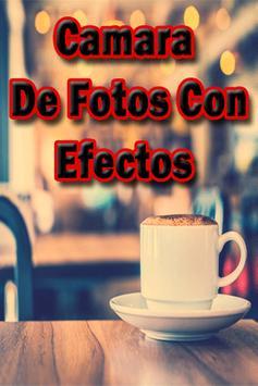 Cámara de Fotos con Efectos Especiales poster