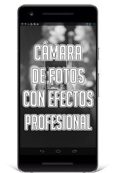 Cámara de Fotos con Efectos Especiales screenshot 1