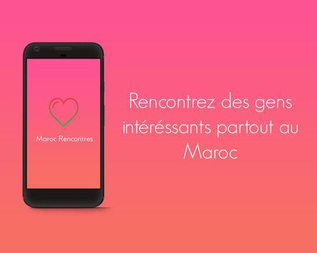 MarocRencontres -Appli de rencontres 100% gratuite poster