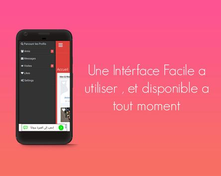 MarocRencontres -Appli de rencontres 100% gratuite screenshot 2