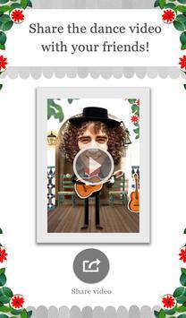 Crazy Flamenco Dance FREE apk screenshot