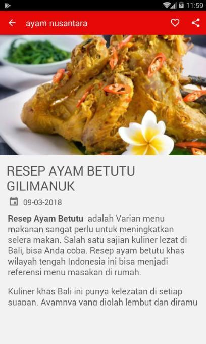Resep Ayam Khas Bali Para Android Apk Baixar