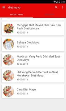 Cara Diet Mayo apk screenshot