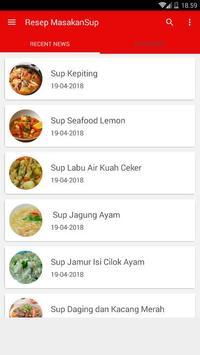 Buku Resep Masakan Sup Pilihan screenshot 1