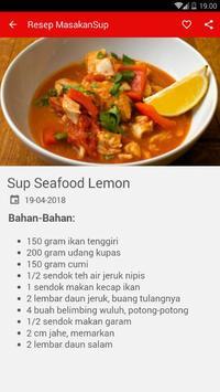 Buku Resep Masakan Sup Pilihan screenshot 2